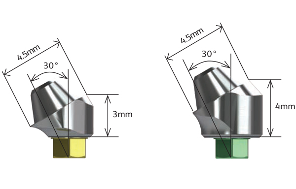 30° Angled Multi-unit Abutments