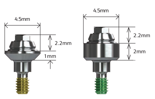Straight Multi-unit Abutments